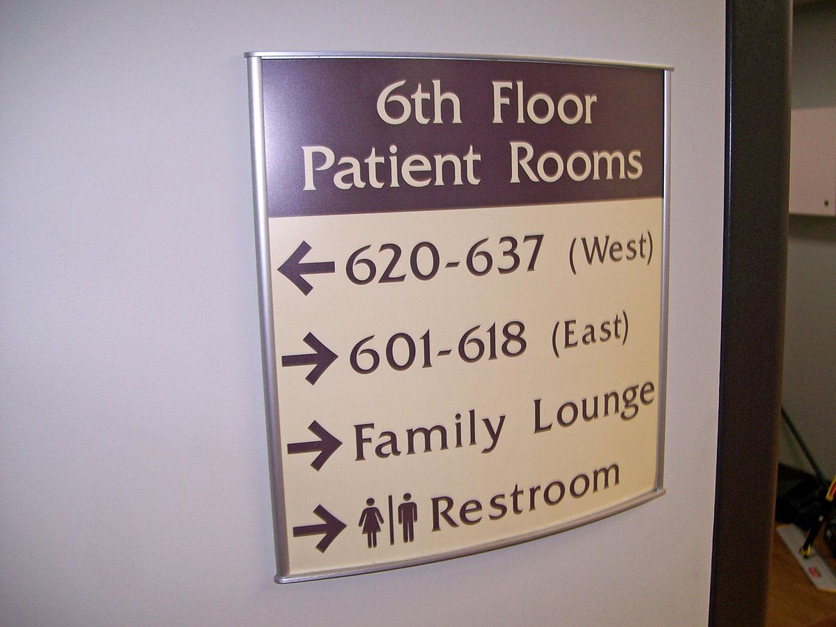 Directional Signs Indoor Dimensional Building Directory Arrow