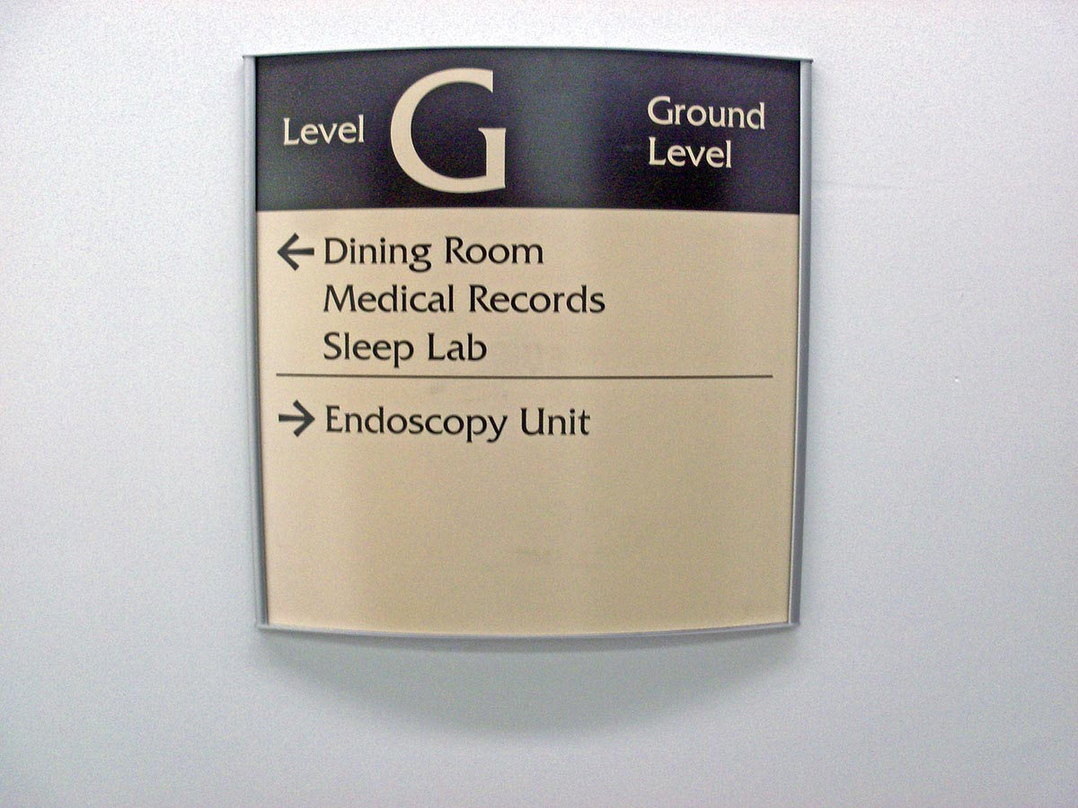 Directional Signs Indoor Dimensional Building Directory