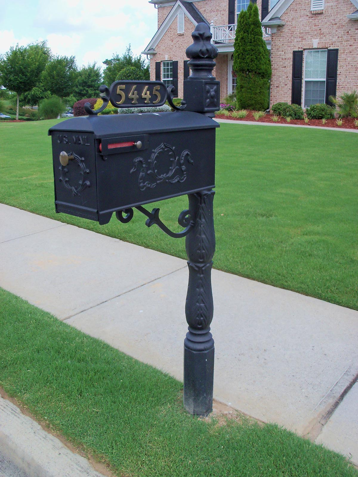 New Mailbox | Custom Metal Mailboxes | Steel | Any Subdivision