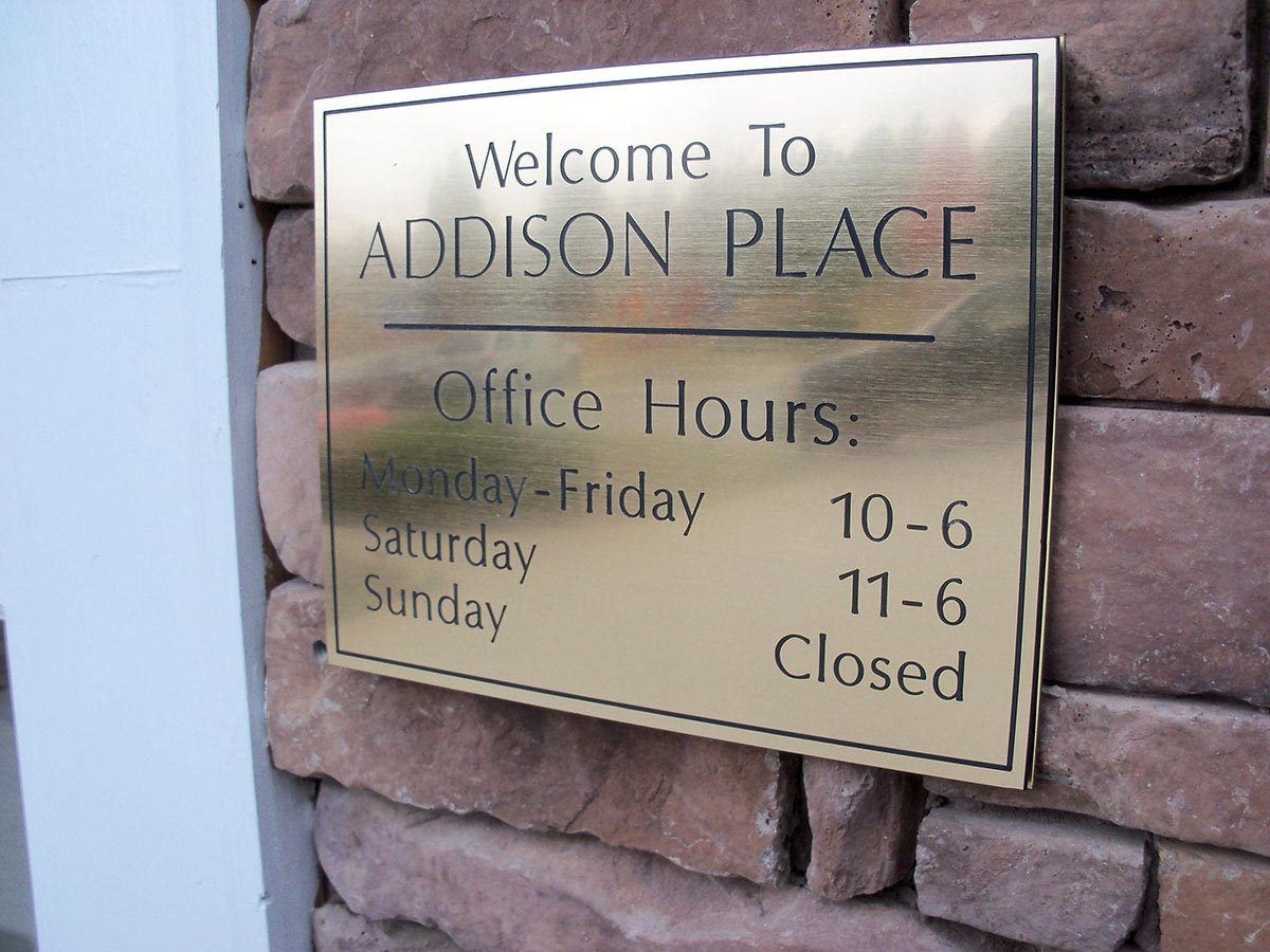 Metal Signs | Aluminum | Tin | Custom Metallic Signage