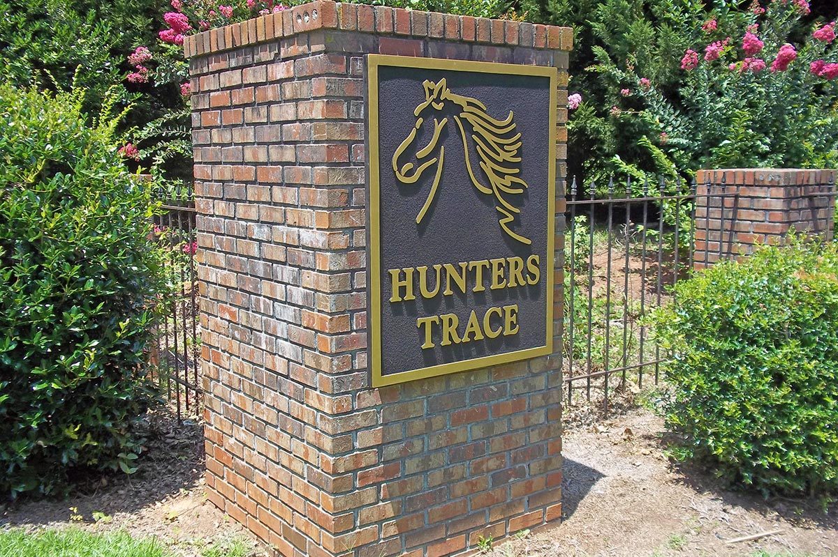 Mounment Signs Subdivision Entrance Architectural Hoa