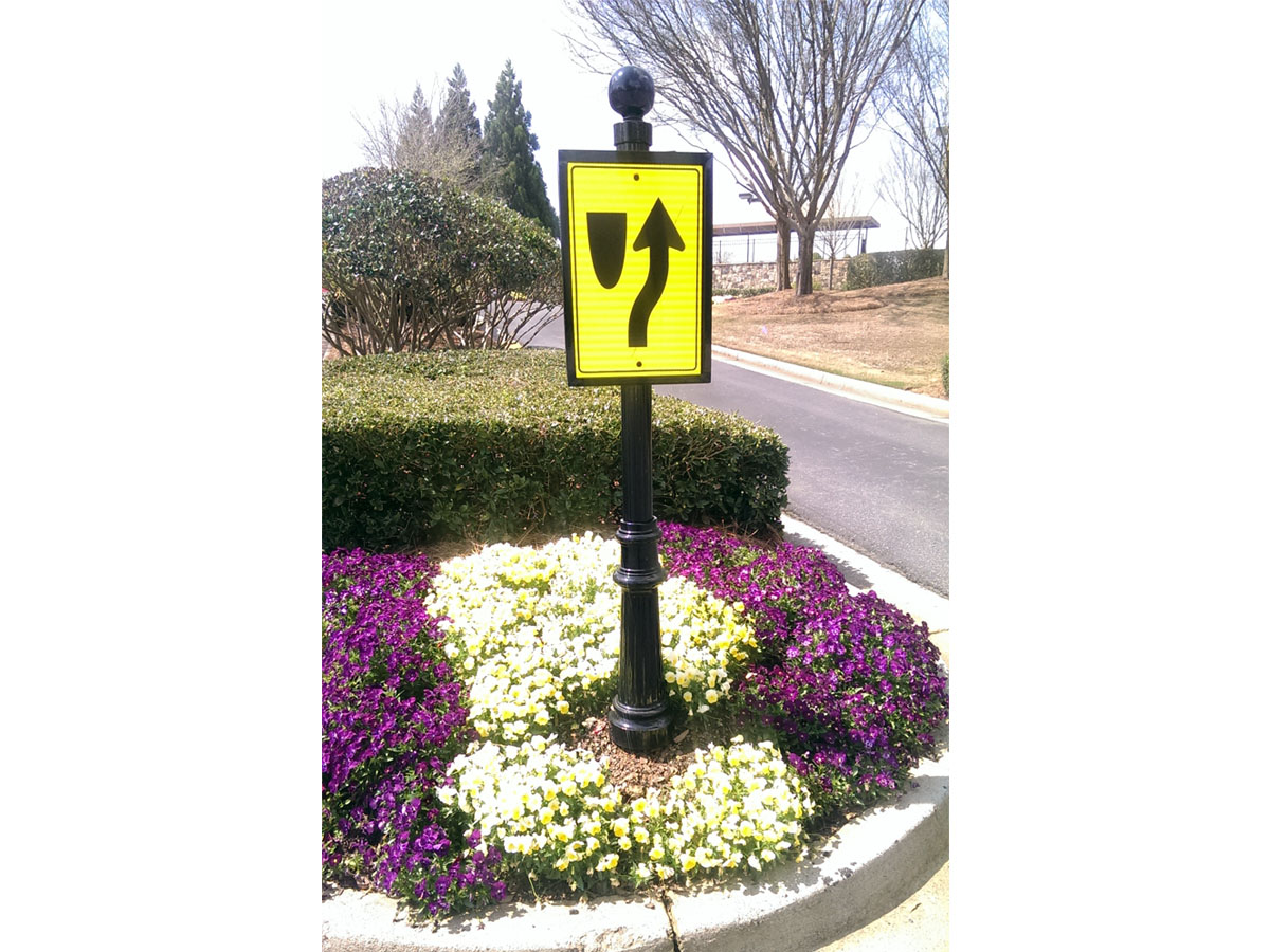 road curve sign