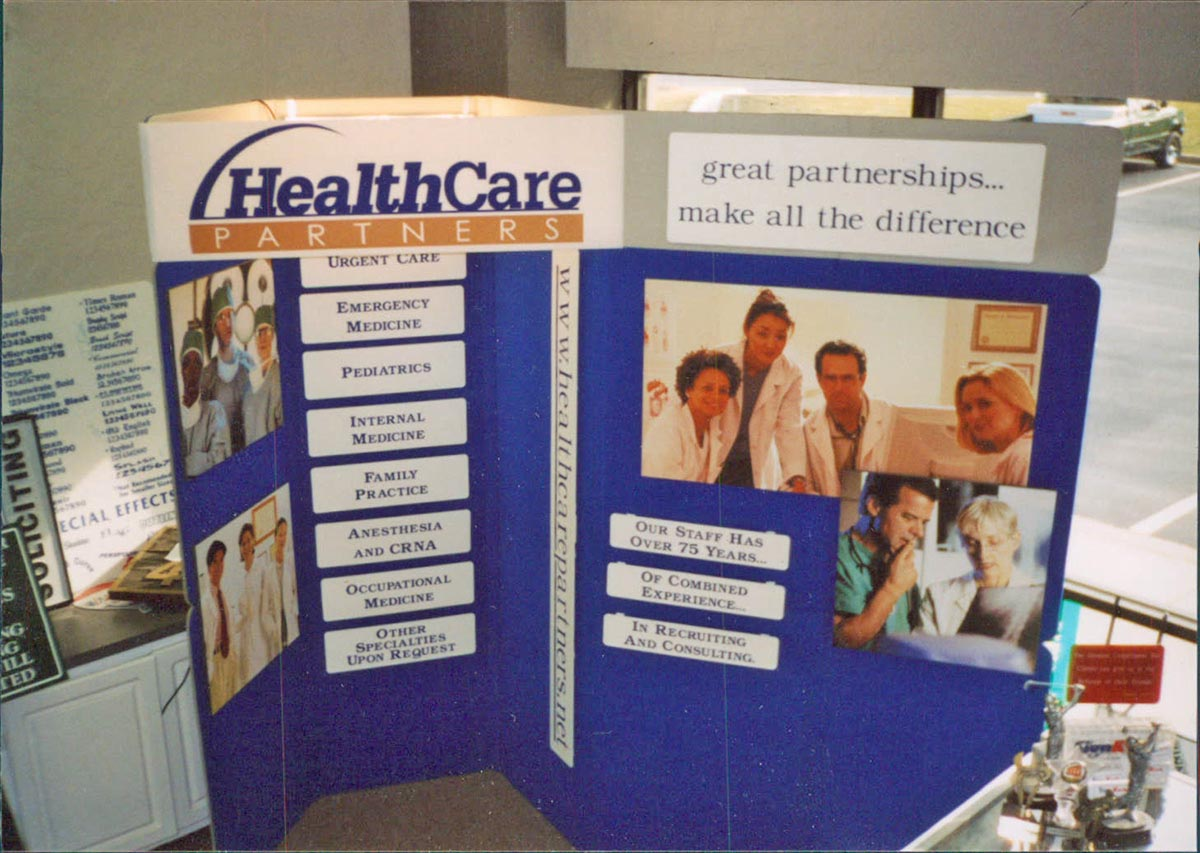 convention exhibit signs