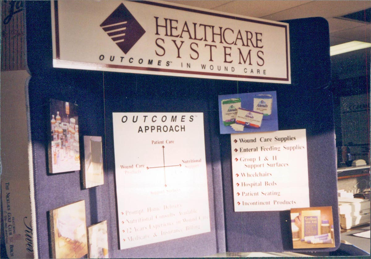 convention exhibit sign