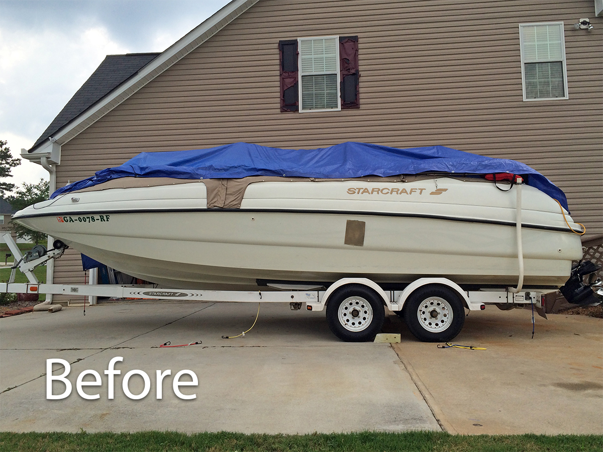 Vehicle Graphics Wraps Boat Decals Lettering Logos - Boat decals custom graphics